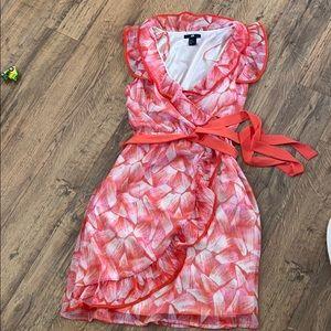 H&M faux wrap dress